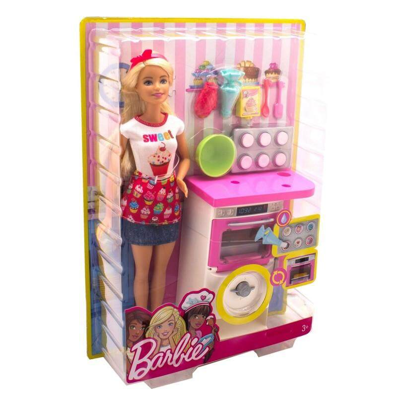 [BARBIE] Bakery Chef Doll and Playset (3 yrs+)