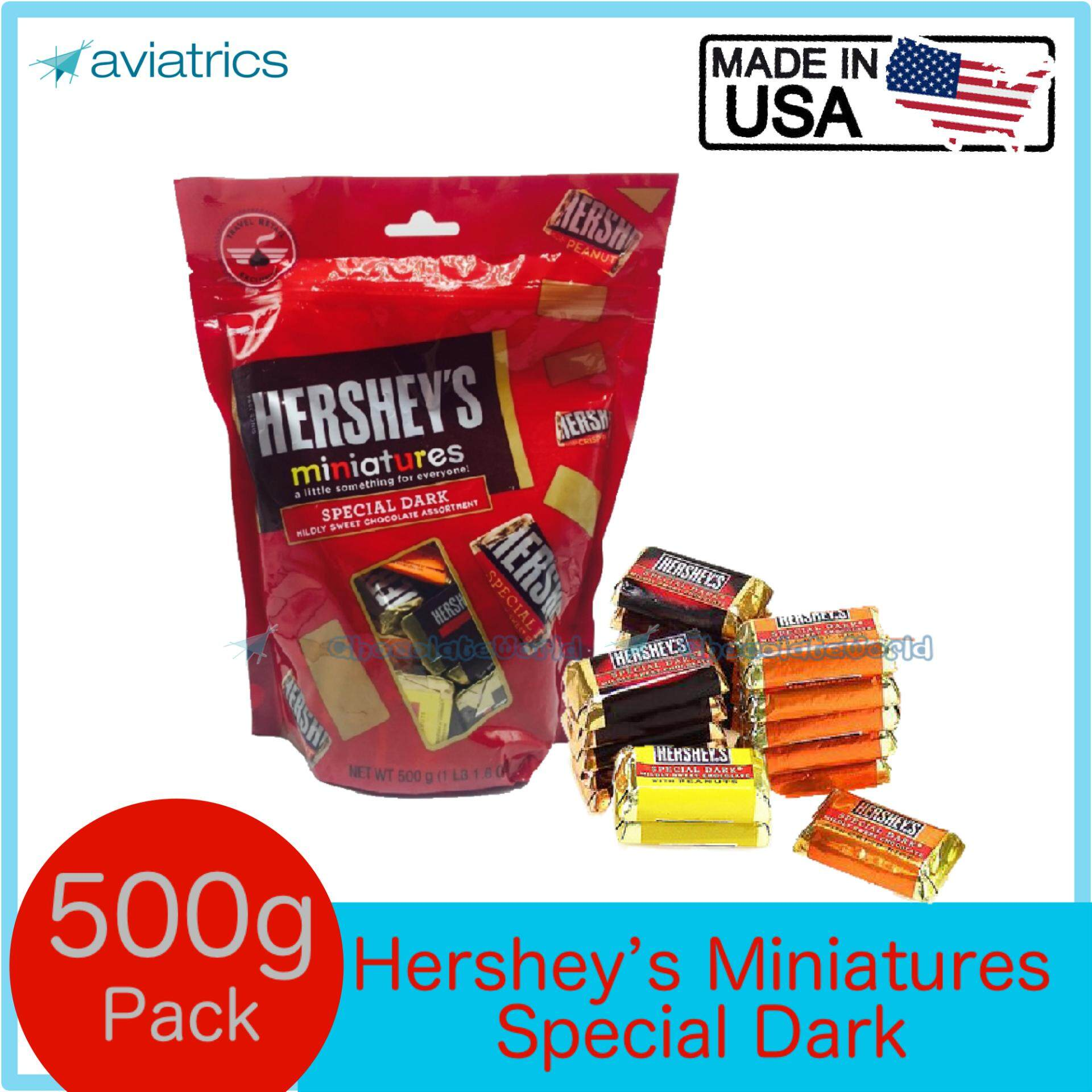 Hershey's Miniatures Special Dark Jumbo 500g (Made in USA)