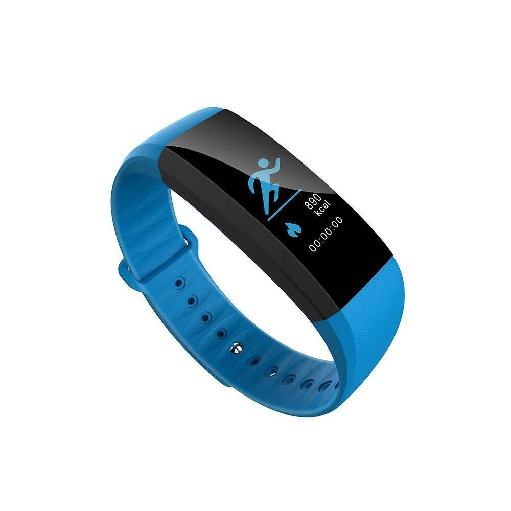 Hình ảnh KALOAD M99 Smart Bracelet Heart Rate Blood Pressure Oxygen Waterproof 0.96 Screen Anti-lost Watch #blue - intl