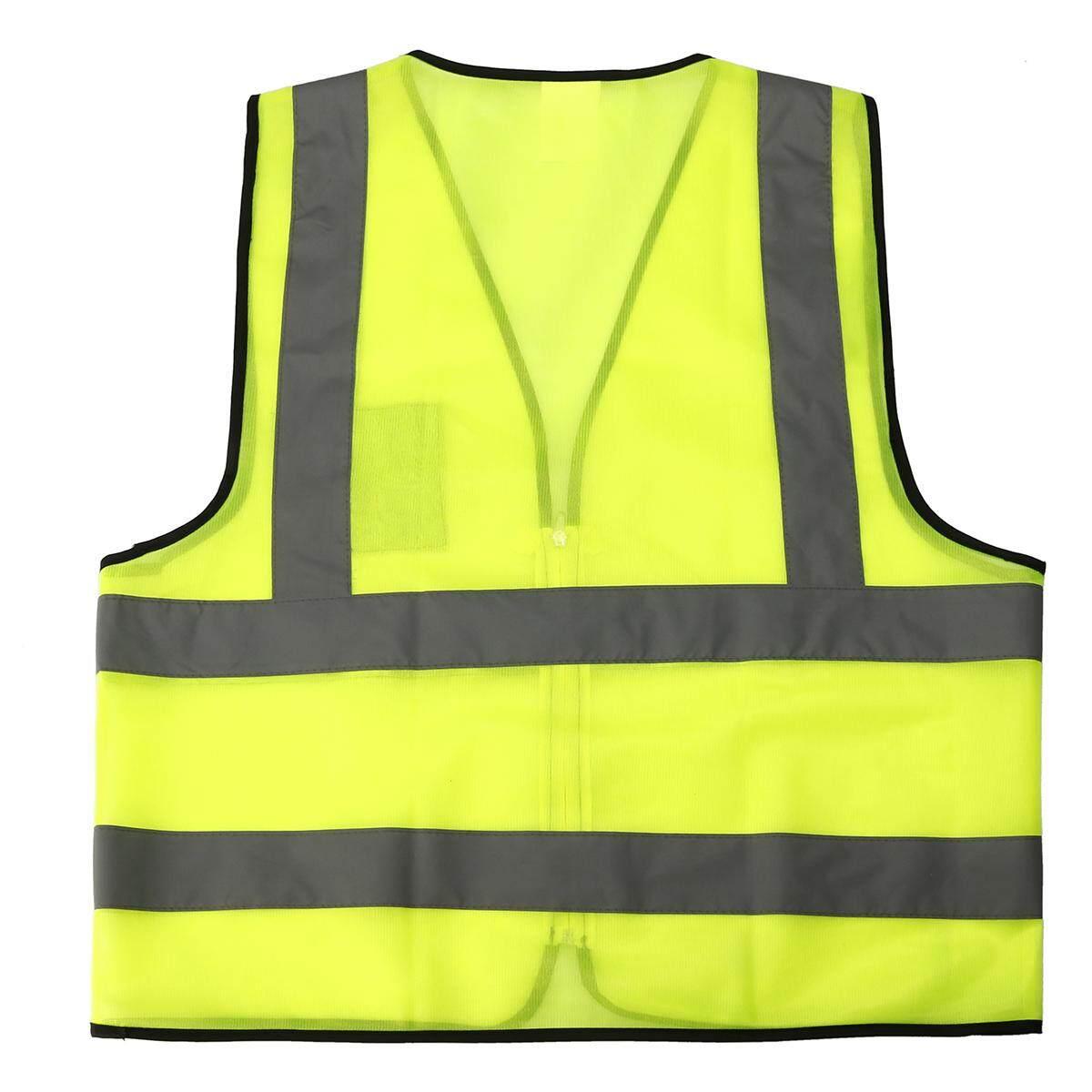 สวัสดี - Vis เสื้อกั๊กความปลอดภัยแจ็คเก็ตสะท้อนความปลอดภัยเสื้อกั๊กใหม่ 62*6 เซนติเมตร - นานาชาติ.
