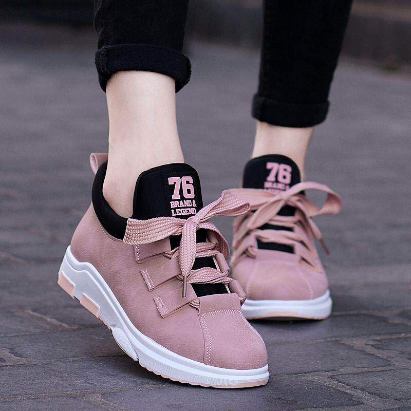 2018 Spring Shoelace New Chic Shoes Women Korean Students Sports Hot Shoes Zsell