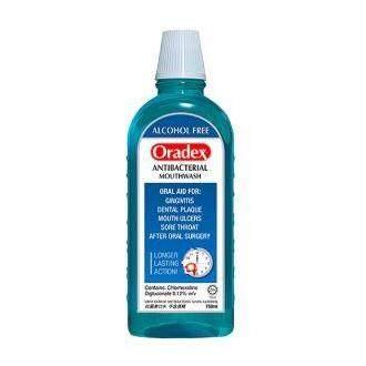 Oradex Antibacterial Mouthwash 90ml / 400ml