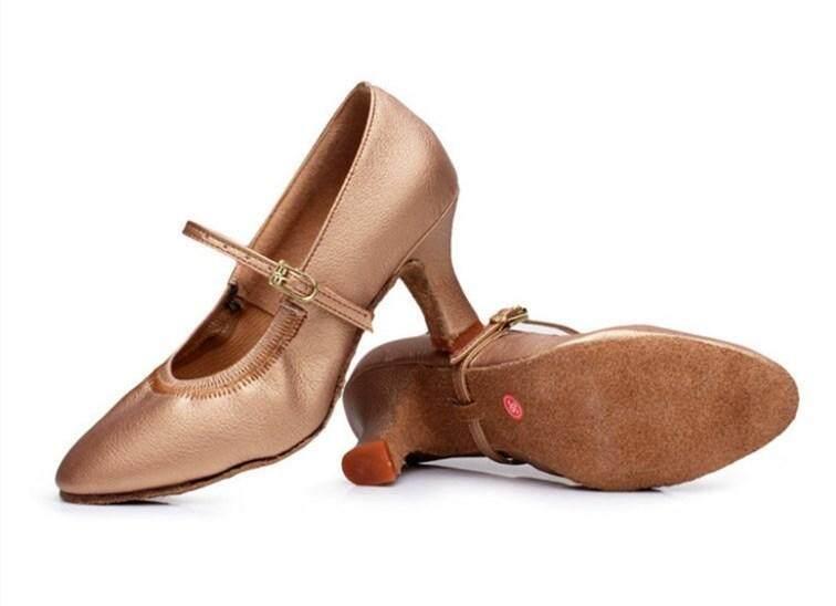 Jual Panas Wanita Tango Ballroom Latin Menari Sepatu Dansa Bertumit Salsa Profesional Tarian Sepatu untuk Wanita, China Wanita 5.5 Cm- internasional