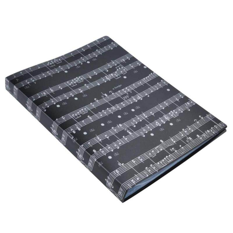 Miracle Shining Music Sheet Folder Documents Folder Paper File for Music Lovers #6 Black Malaysia
