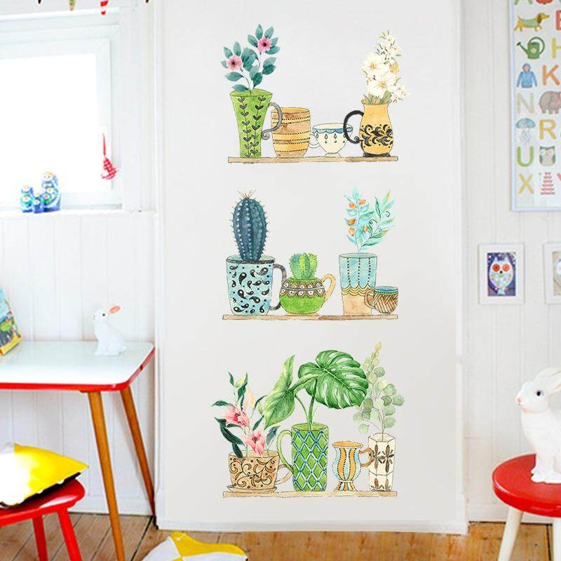 Discount Kids Room Kitchen Non Toxic Removable Wall Sticker Creative Living Room Bedroom Background Wall Stickers Wall Decorative Stickers Kindergarten Decorating Office Decals Non Toxic Removable Sticker Mimosifolia