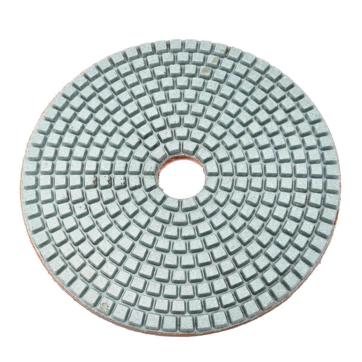 5 Inch 200 Model Kotak-kotak Basah Kering Berlian Alas Poles Amplas Disc Granit Beton