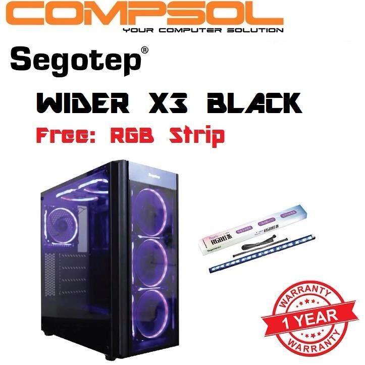 Segotep Wider X3 Black Casing Malaysia