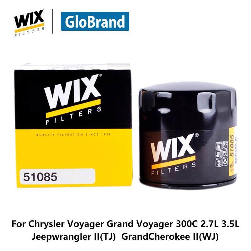 WIX Mobil Minyak Penyaring 51085 untuk Chrysler Voyager Grand Voyager 300C 2.7L 3.5L Jeepwrangler II (TJ) grandcherokee II (WJ) Otomatis Bagian-Internasional