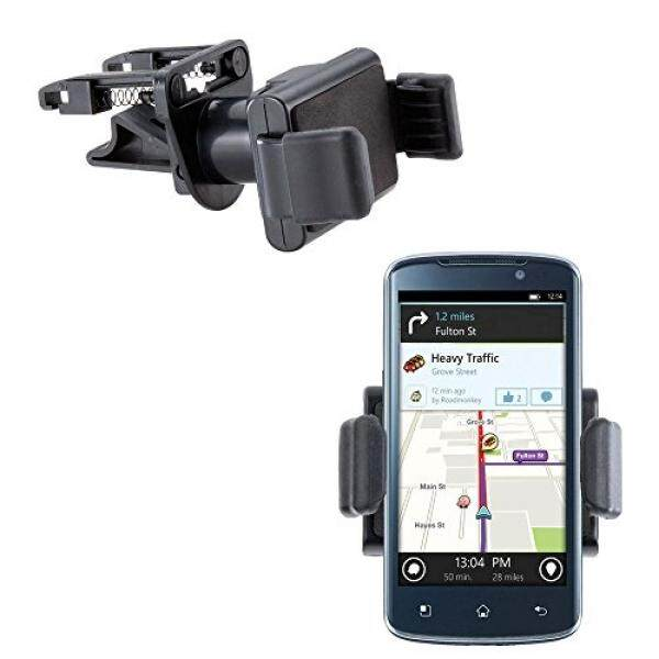 Vent Compact Mini Vehicle Mount Cradle Designed for LG Optimus True HD - Unique Auto Car Holder Clips into Air Vents - intl
