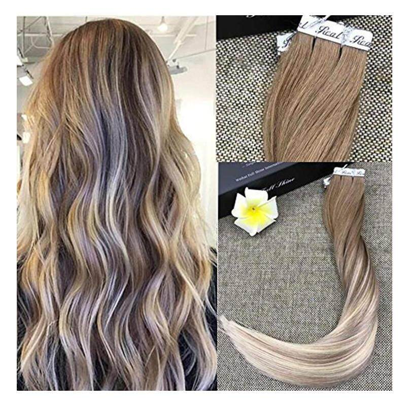 The Cheapest Price Fshine Full Shine 22 Balayage Tape In Hair
