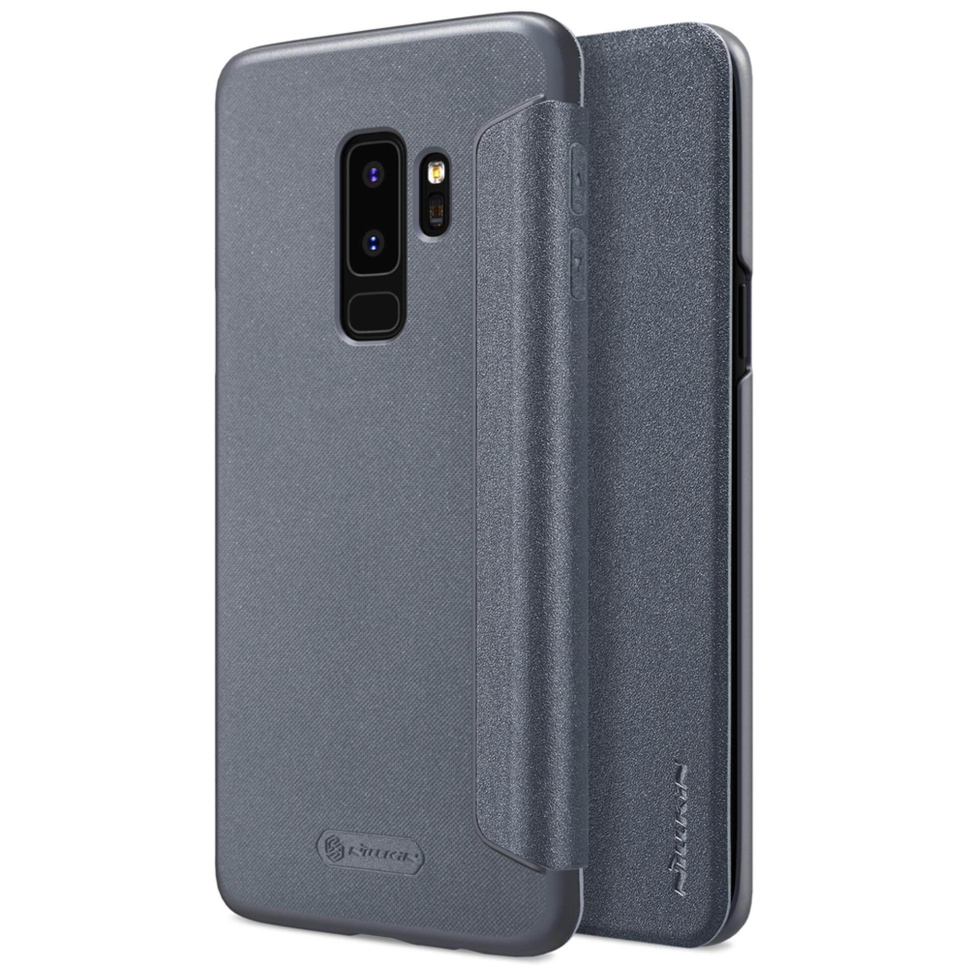 Price Samsung Galaxy S9 Plus S9 Case Nillkin Sparkle Book Type Ultra Thin Flip Up Pu Leather Slim Cover Case For Samsung Galaxy S9 Plus S9 Grey Intl Nillkin China