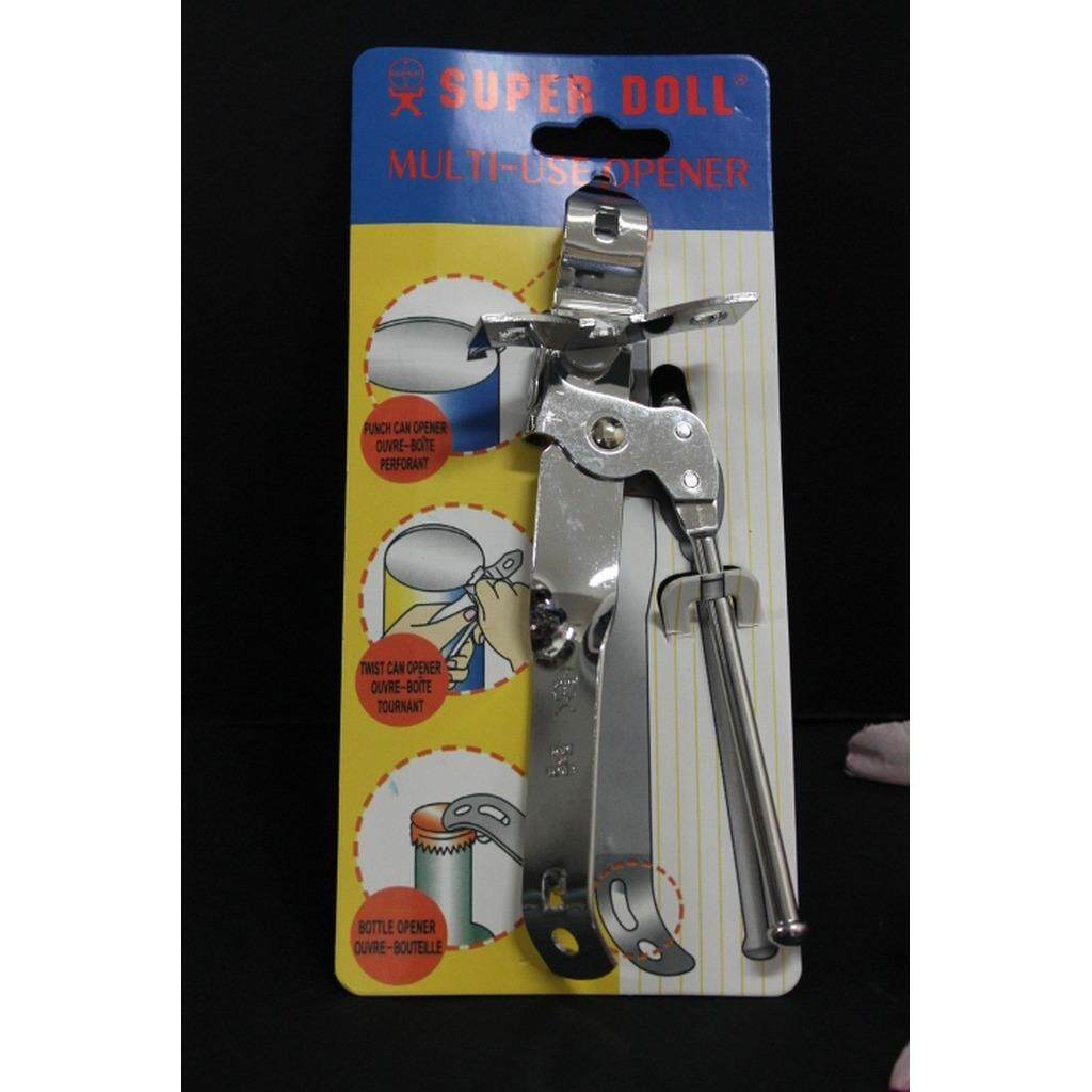 1pc Can Opener Manual Stainless Steel 7 inches (Silver)