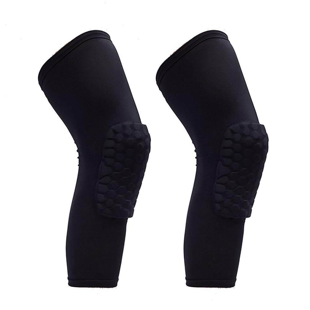 Penyangga Terbaik Termurah Bahu Olahraga 2 Pcs Honeycomb Lutut Bantalan Kaki Lle Pelindung Alas Untuk Luar Ruangan Guards