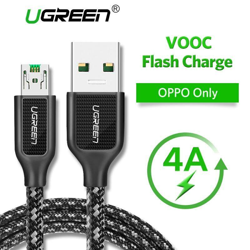 UGREEN 0.5Meter 4A Micro USB Cable for OPPO F1 Plus/Find 7/R9/R9S/R11/R11 Plus VOOC Flash Charging Data Cable - intl