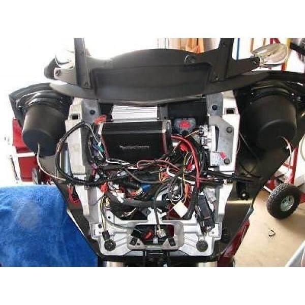 Victory Silang Country dan Magnum Amp Mounting Braket Cocok Rockford Fosgate PBR400X4D OrPBR300X2 atau PBR300X4-Internasional
