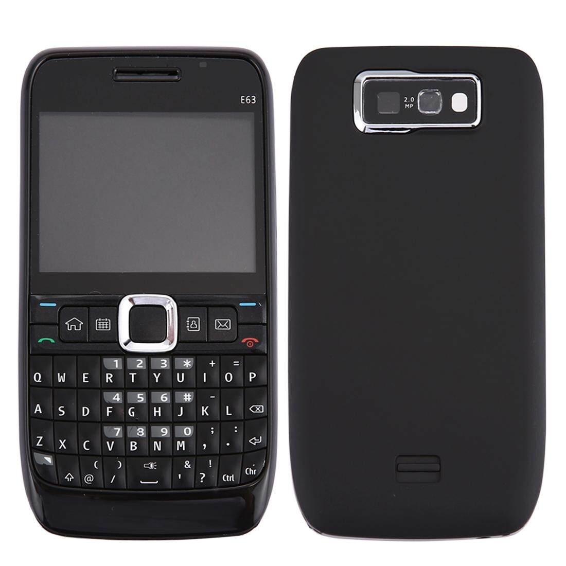 IPartsBuy dành cho Nokia E63 Full Nhà Ở Cover (Mặt Trước + Trung Khung Viền Ốp Lưng + Bàn Phím) (đen)-quốc tế
