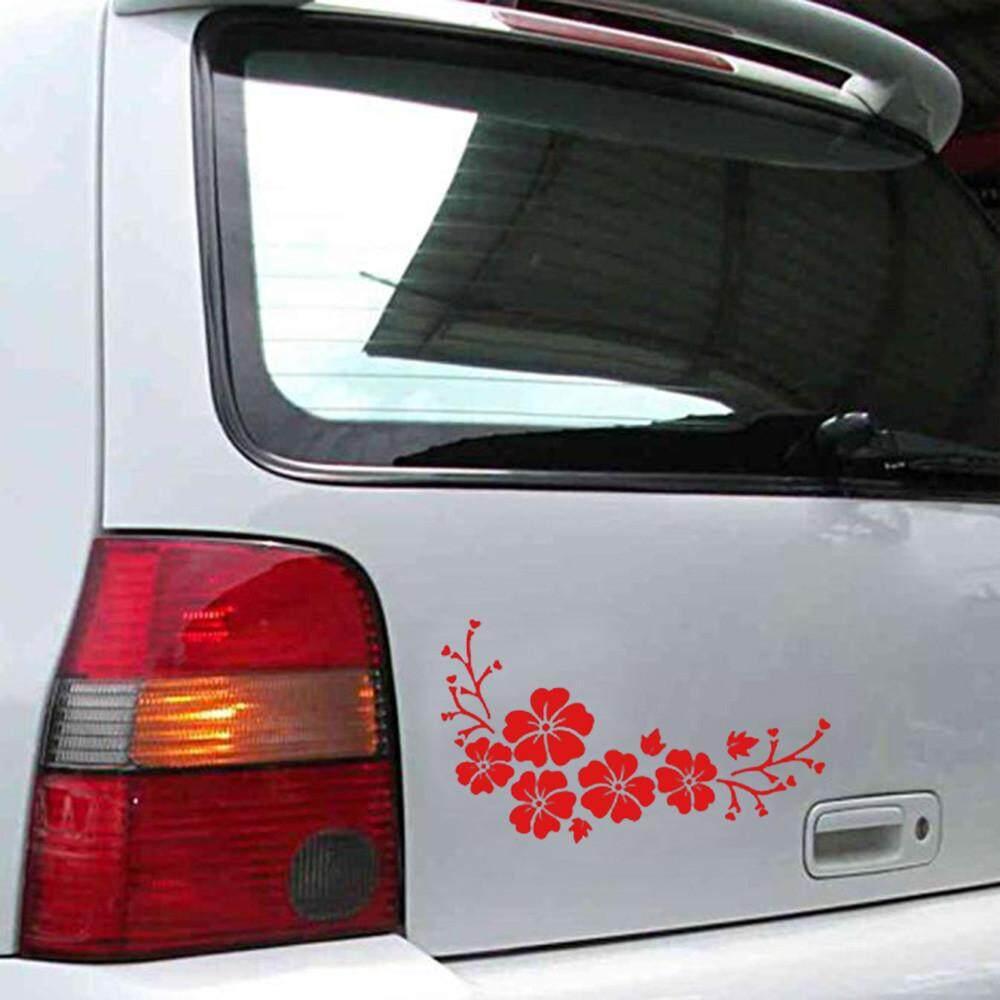 Mobil Stiker Halus Terbang Bunga Memberi Truk Hood Sisi Stiker Fanestiy