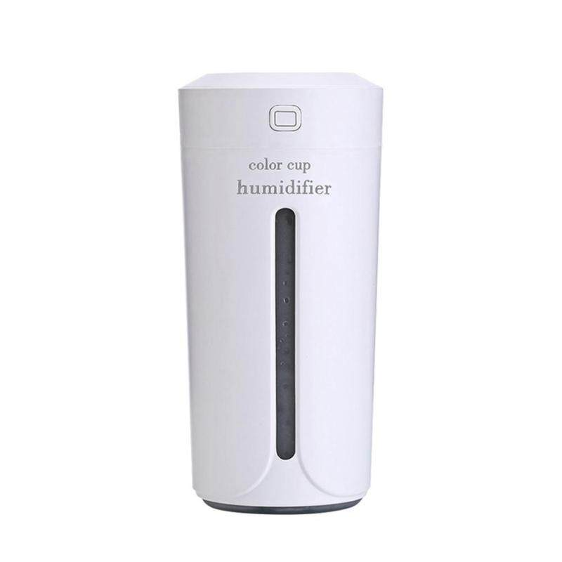 Bảng giá Ultrasonic Light Cup Aroma Humidifier Air Diffuser Purifier Atomizer(White)