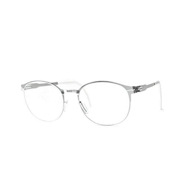 ic! Berlin Innocent Eyeglasses Fashion Silver Frame / RX Demo Prescription Lens - intl