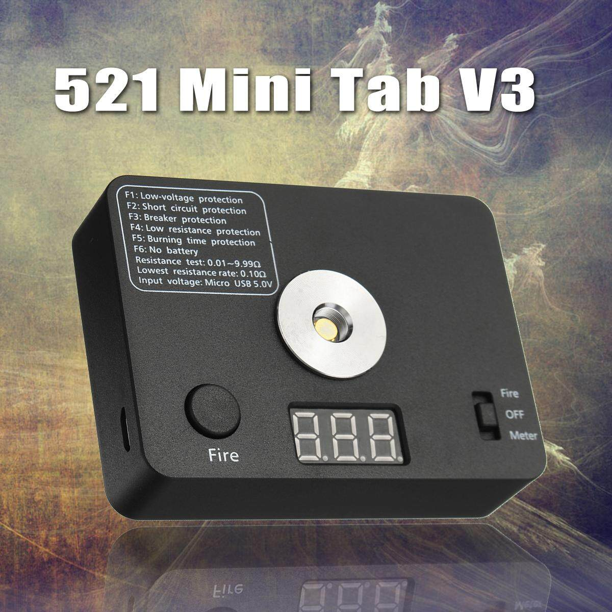 Features 521 Tab Mini V3 Digital Tool Kit Ohm Meters Coil Check With Laptop Multimeter Tests Checking Voltage And Short Circuits Resistance Tester