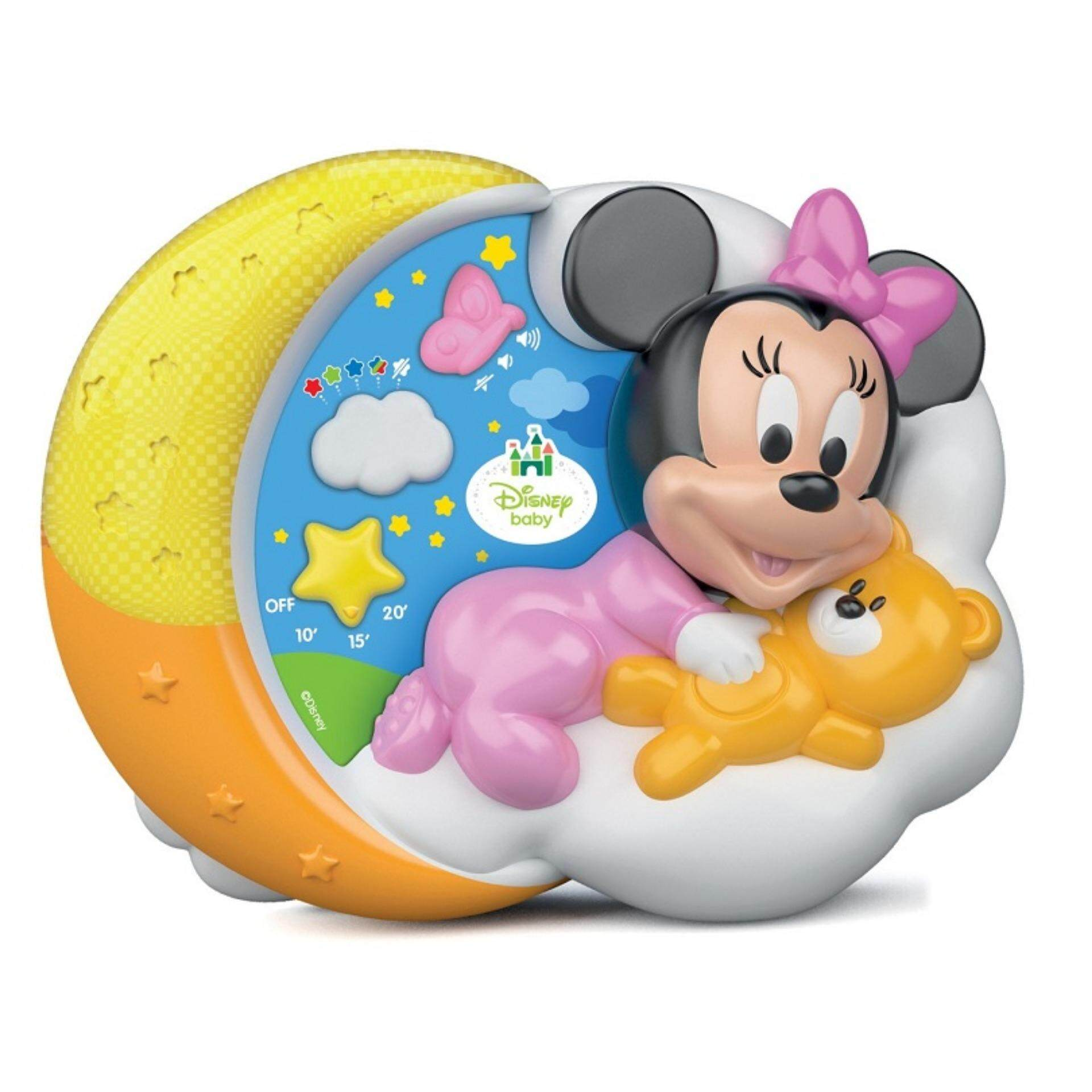 Disney Baby Developmental Magical Stars Figural Projector Musical Toys - Minnie toys education