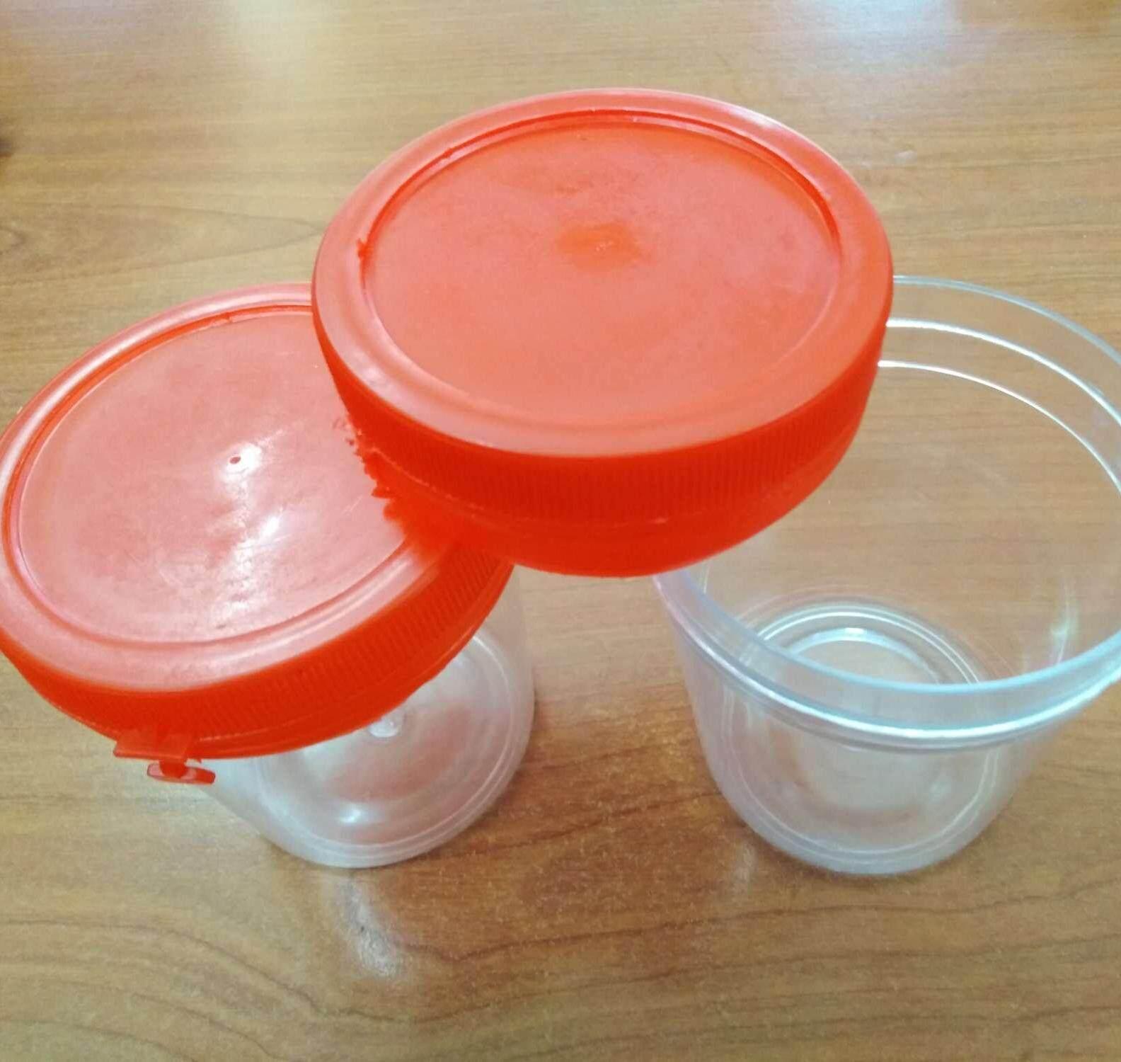 10pc 180ml plastic jar