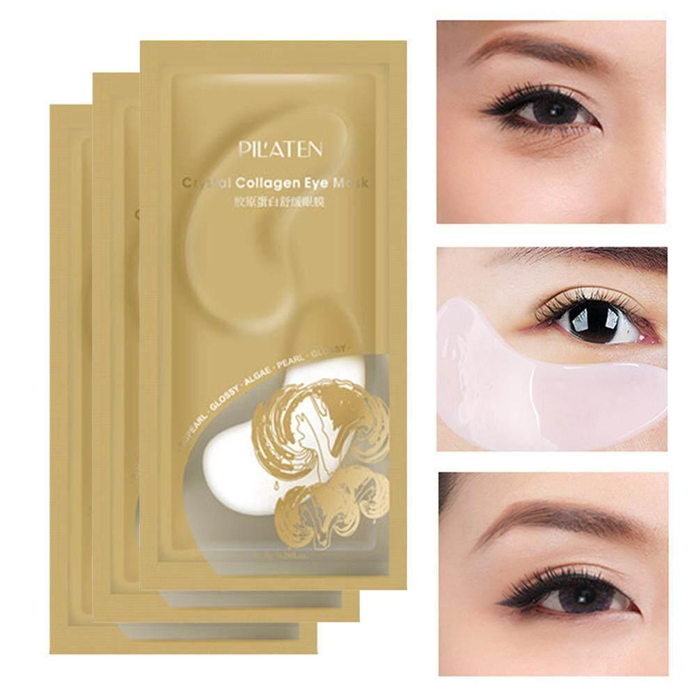 Crystal Collagen Gold Eye Mask Isi 10 Pcs Wikie Cloud Design Ideas Eyelid Patch Masker Mata Emas Anti Wrinkle Dark Circle Gel Under Patches Pad Bag