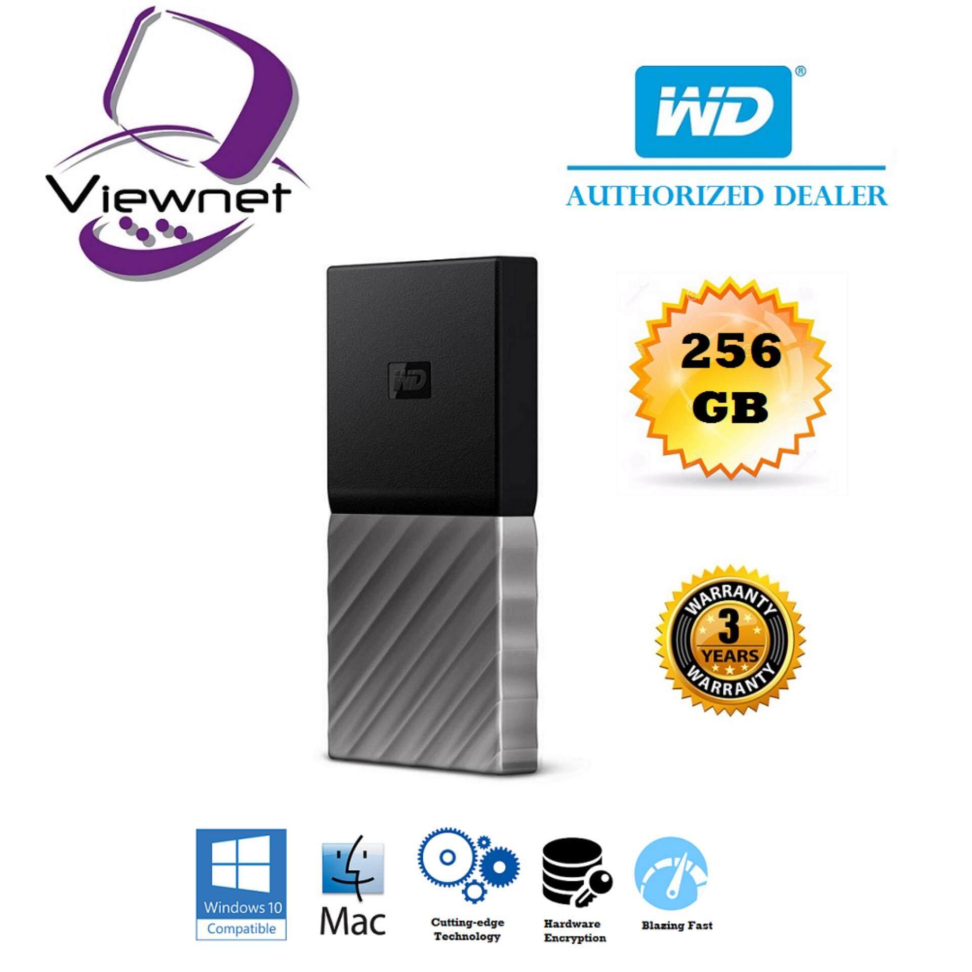 Genuine Western Digital Ssd External Usb30 My Passport Hard Drive Hardisk Wd Elements 1tb For 256gb 512gb Silver Malaysia