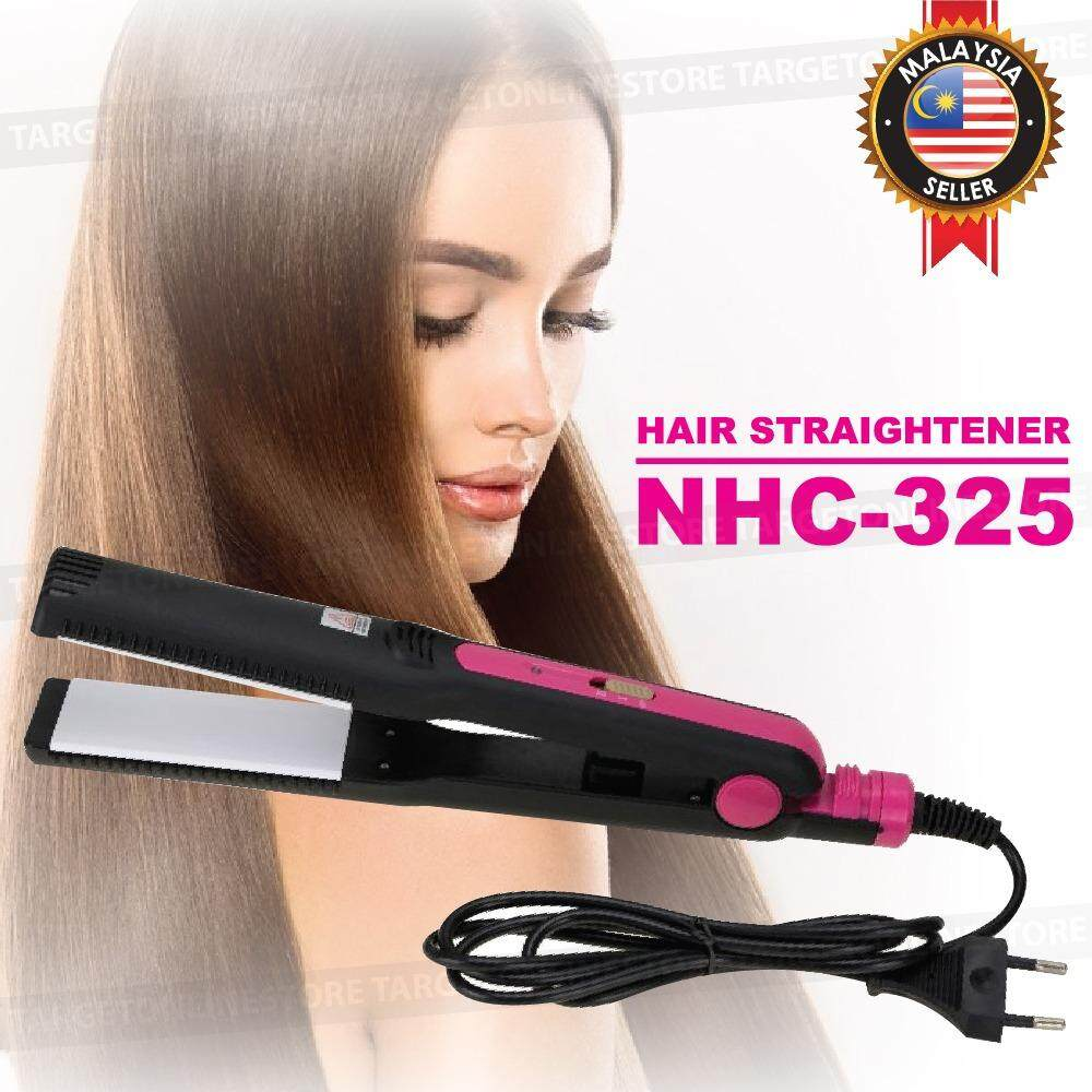 Hair Iron Straightener With Best Online Price In Malaysia Beauty Catok 2 1 Professional Straightening Nhc 325 Swivel Cord Styler