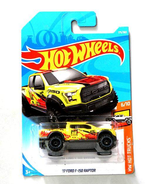Hot Wheels  Ford F  Raptor Car Toyscast