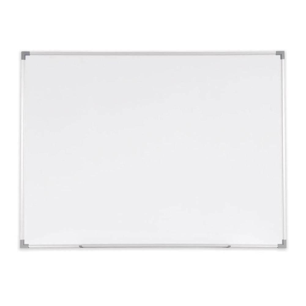 Melamine Non Magnetic Whiteboard Aluminium Frame SN35 - 90cm x 150cm (3' x 5')