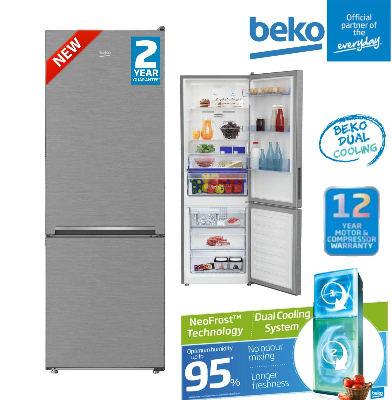 Review New : Sharp 440l Pelican Refrigerator Sje438mk 12