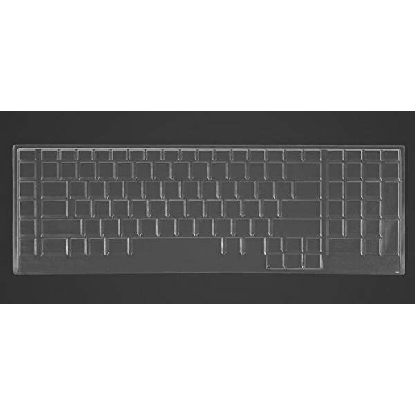 CaseBuy Ultra Thin Silicone Keyboard Protector Cover Skin for Dell Alienware 18(2013 Version), Alienware 17 R2 R3 R4(2015/2016 Version), Alienware M17(2015 Version) Gaming Laptop(Clear) - intl