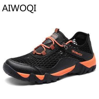 Harga preferensial Olahraga Luar Ruangan Sepatu untuk Pria Rendah Anti-Air Non-slip Sepatu Daki Gunung Luar Ruangan Pendakian Daki Gunung Sepatu untuk Pria ...