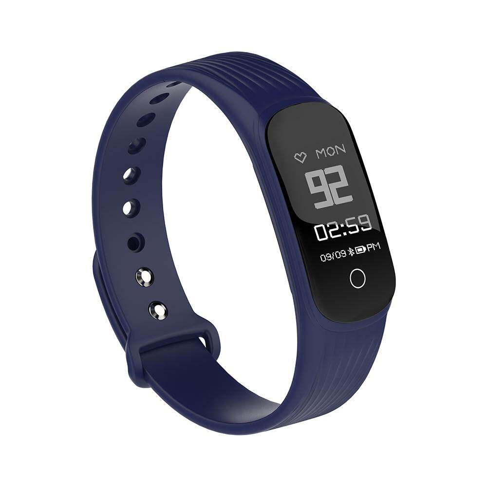Hình ảnh MGCOOL Band 4 Bluetooth Smart Bracelet Wristband Watch Heart Rate Monitor for Android IOS - Blue - intl