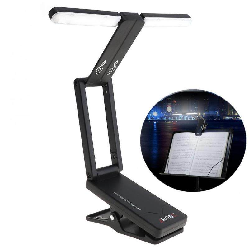 Rechargeable Music Stand Lamp Folding LED Clip-on Light for Stage Lighting and Guitar Piano Light Malaysia