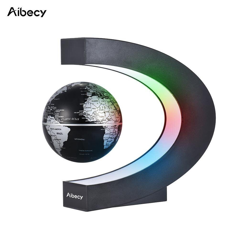 Electronic learning toys for sale learning toys for kids online aibecy creative 3 inch c shaped magnetic levitation floating world map globe with led color lights gumiabroncs Gallery