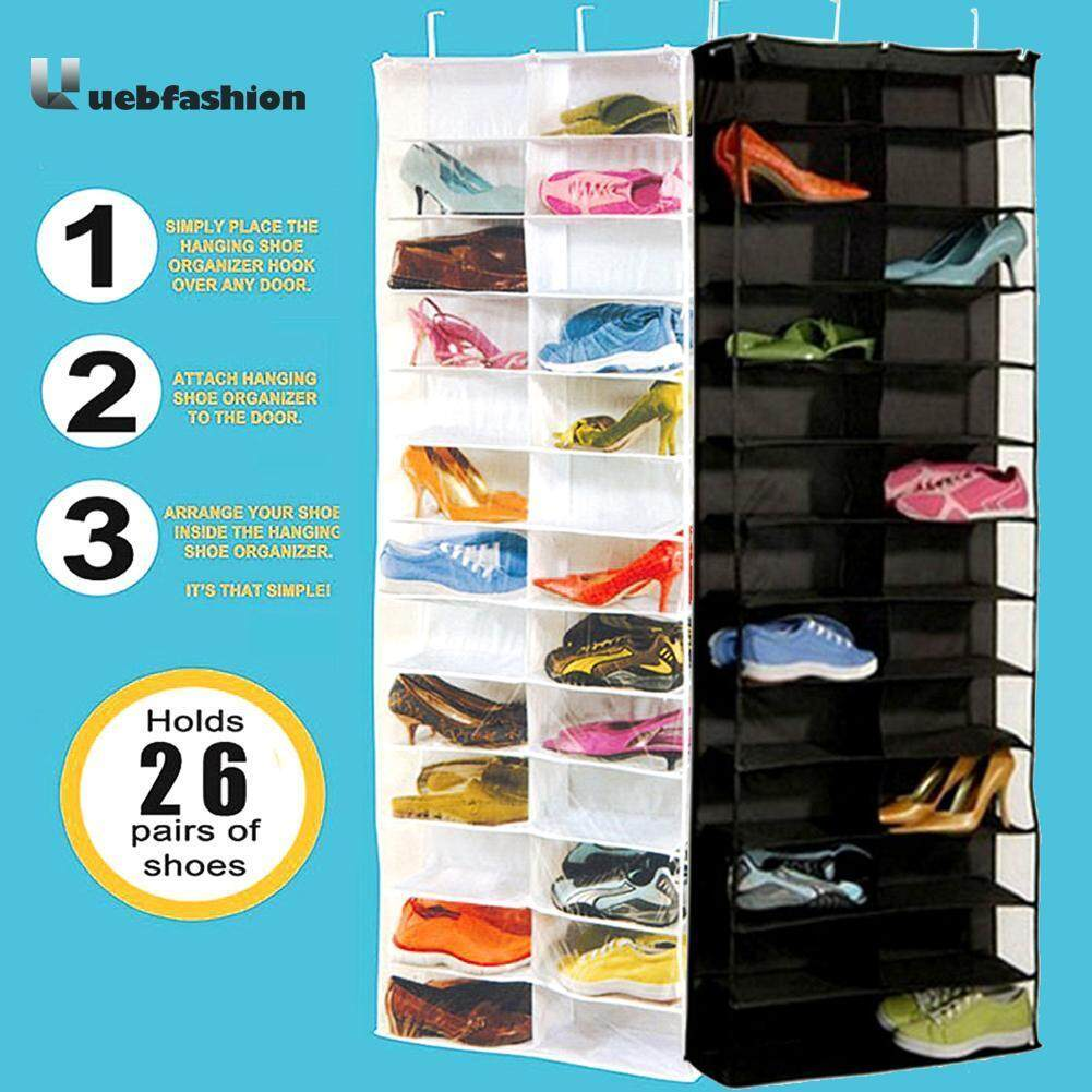 Over Door Hanging Bag Box Shoes Organize Rack Storage Box Intl For Sale