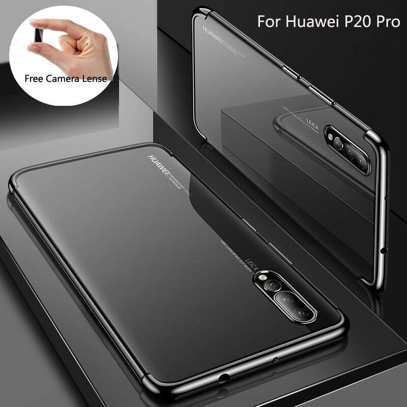 Soft TU Plating Case For Huawei P20 Pro with Free Camera Lense Tempered  Glass 1ad983e304