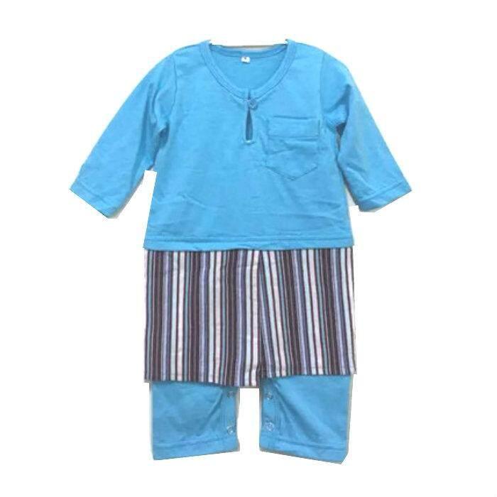d750326fa Cek Harga  j048  Jumper Baju Melayu Samping Baby Romper Raya Snow ...