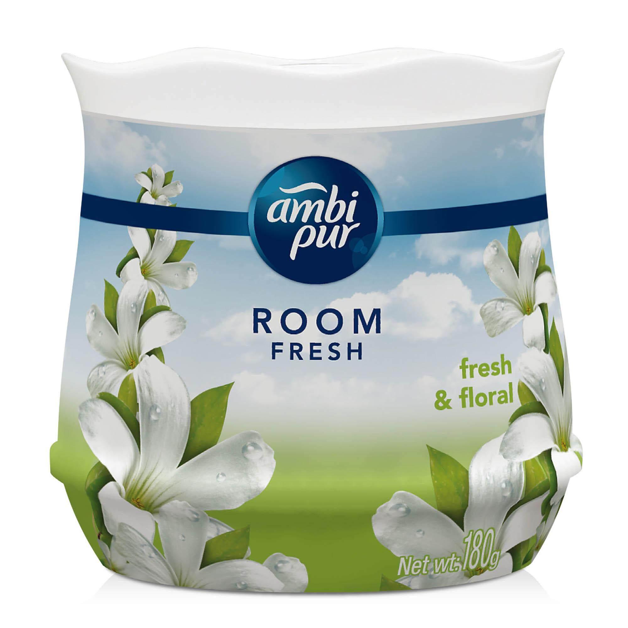 Ambi Pur Room Fresh Gel Fresh Air Refreshing Gel Fresh & Floral 180G