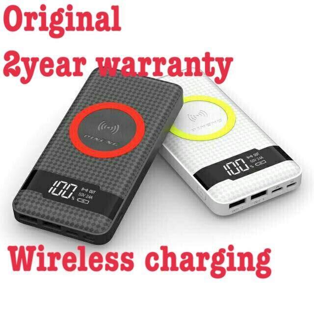 Pineng Wireless Power Bank PN 886 Super Slim 10000mAh PN886 Powerbank 3 input