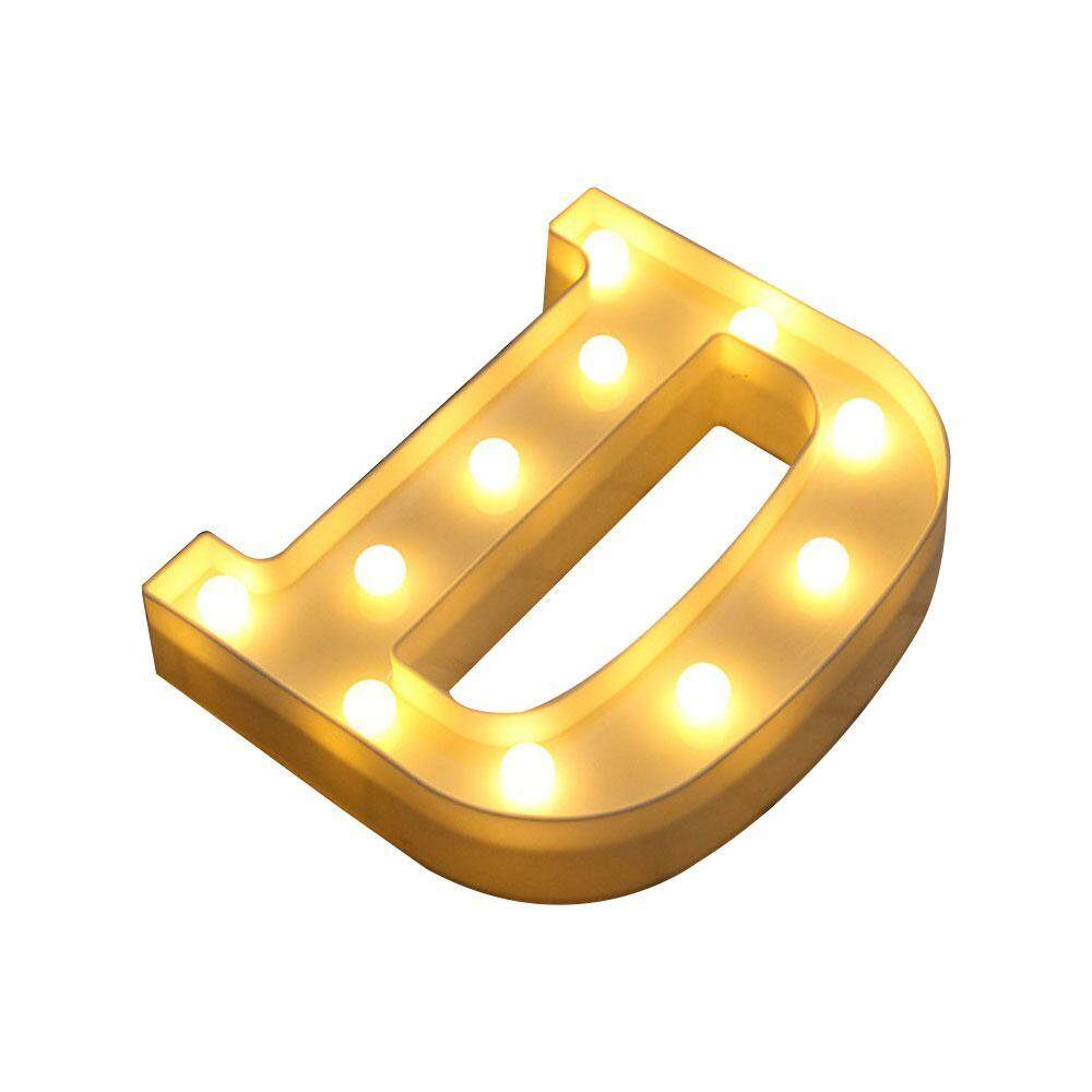 telimei LED Marquee Letter Lights Alphabet Light Up Sign Decoration For Indoor WALL Festival Party Wedding Holiday Window Display Light