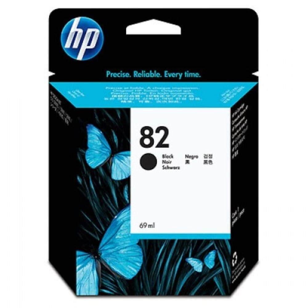 HP 82 69-ml Black Ink Cartridge (CH565A)