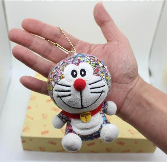 Hot Anime Doraemon Plush Toys Cute Cat Doll Soft Stuffed Animals Baby Toy for Kids Gifts Doraemon Figure toys for girls 10cm