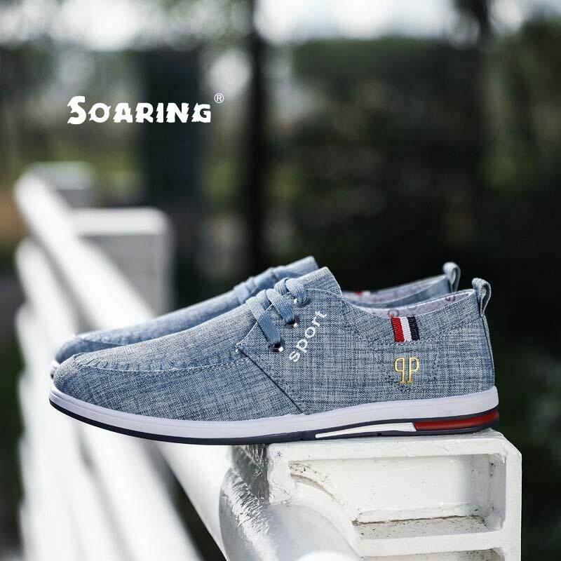 de35fcbe4f Soaring New Arrival Spring Summer Comfortable Casual Shoes Mens Canvas Shoes  For Men Lace-Up