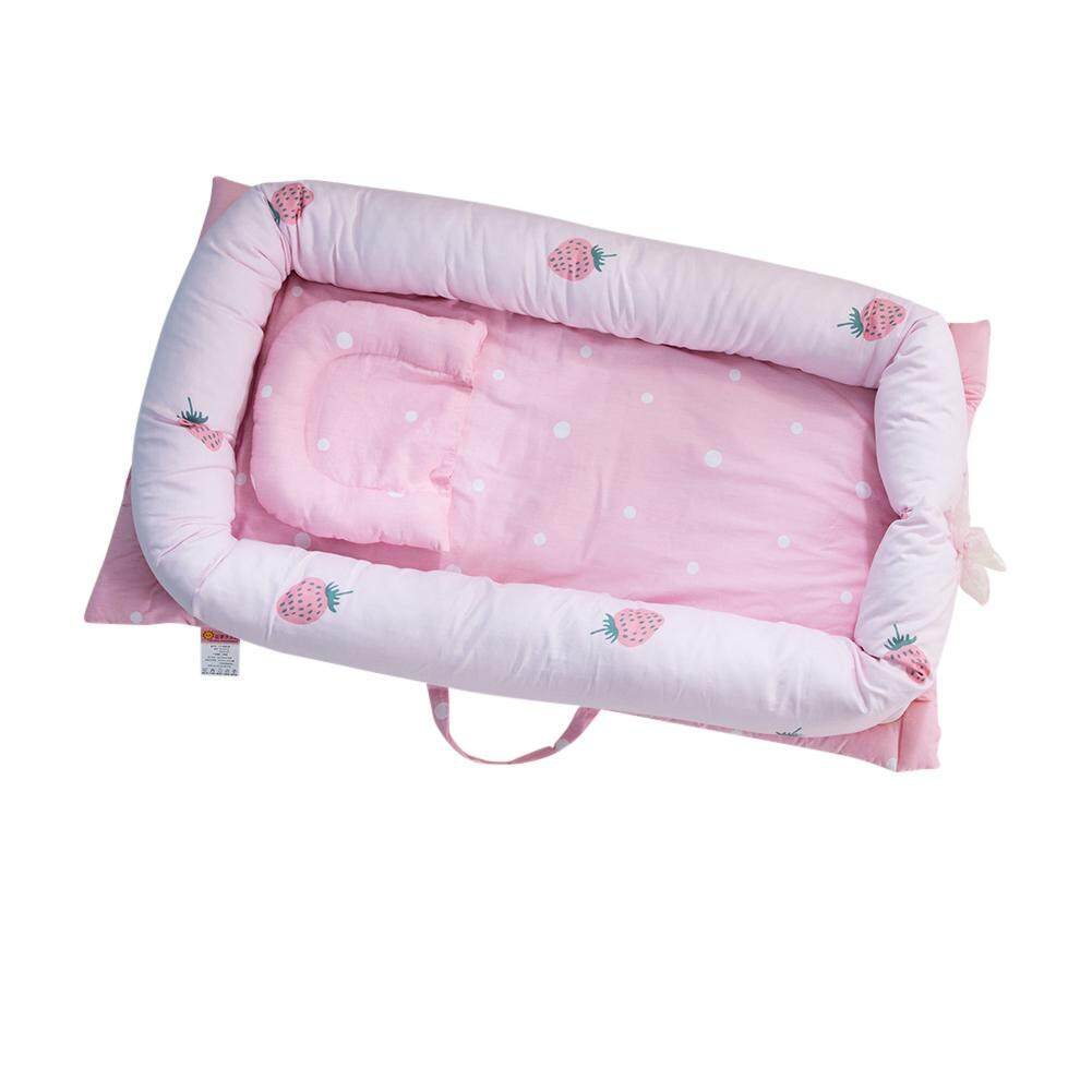 Buy Kidlove Baby Portable Newborn Mattress Multifunctional Nursery Foldable Travel Bed With Bumper Intl China