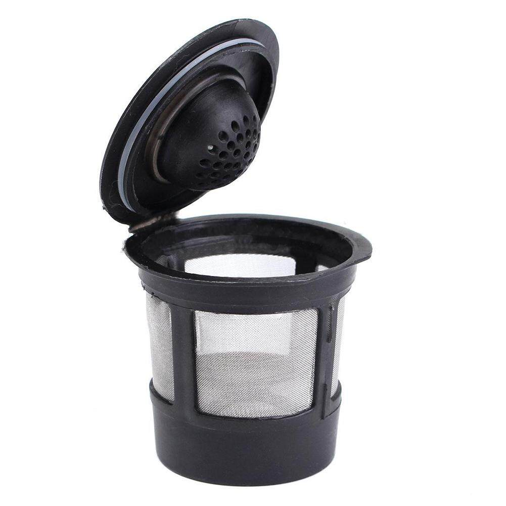 Reusable Single Cup For Keurig Solo Filter Pod K-Cup Coffee Stainless Mesh Black Pattern