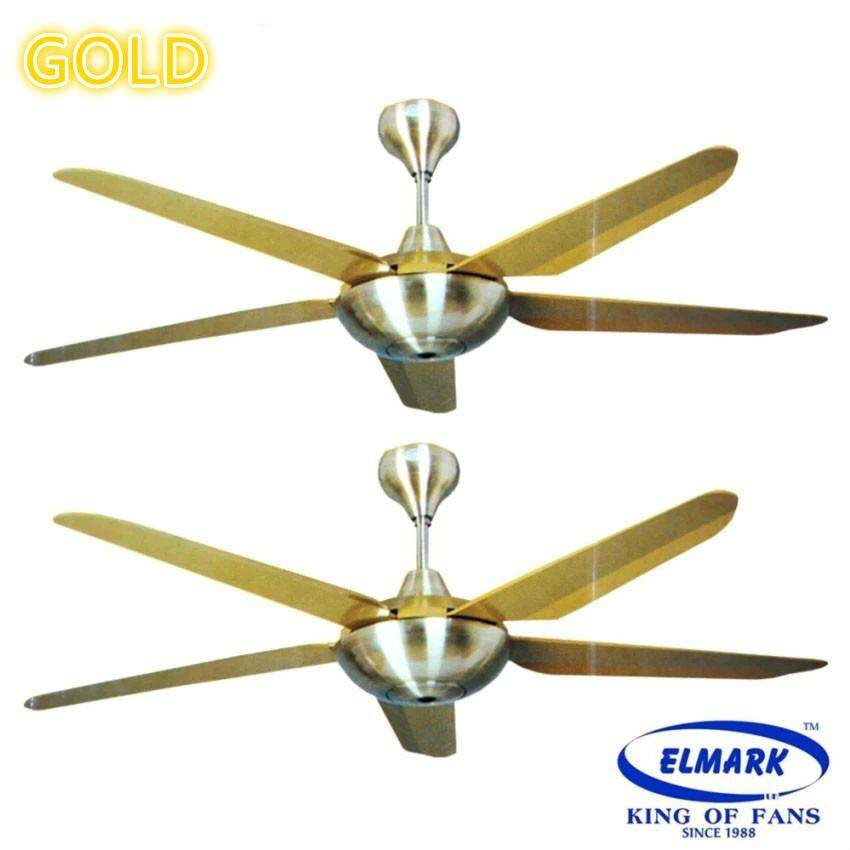 Twin pack elmark ceiling fan with remote control winter 888 gold twin pack elmark ceiling fan with remote control winter 888 gold malaysia aloadofball Images