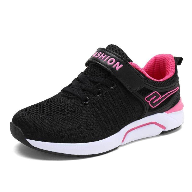 New Children Shoes Sneakers Girls Sport Shoes Size 28-38 Breathable Kids  Running Shoes 08fe24f78c92